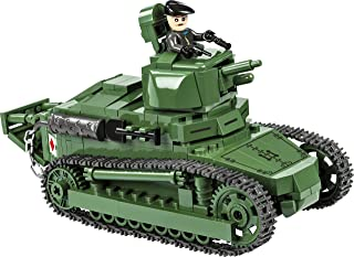 COBI 历史系列 雷诺FT-17坦克玩具