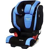 RECARO 德国进口莫扎特2代 侧面加固防护型儿童汽车安全座椅—蓝黑色(适用年龄3-12岁,承载重量15-36kg…