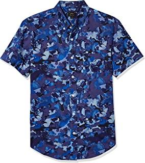 J.Crew Mercantile 男式短袖水洗動物襯衫