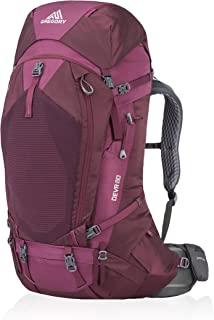 gregory 格里高利 女式 60L 户外登山徒步背包 双肩包 18新款 DEVA60 Plum Red梅红色 S