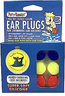 putty BUDDIES 原装游泳耳塞–THE BEST 游泳耳塞–BLOCK 水–超软–舒适–非常适合儿童–双装