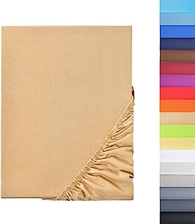 NatureMark 特别品位!! 超细纤维 SPANNBETTLAKEN 优惠! 多种尺寸和颜色的品牌产品 Sand/Beige 90x200-100x200 cm 7426824921520