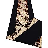 【包装完成】盒装 日式图案 日式风格餐厅 腰带 日本制造 海外用礼物 150×30cm (雅)
