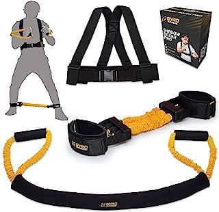 GYRO FITNESS   Shadow Boxer Pro   拳击阻力带套装适用于阴影拳击,配有脚踝阻力带和脚踝绑带   是您家庭拳击设备的理想补充