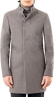 Calvin Klein 卡尔文·克莱恩 男式短款修身外套, Light Grey, 42S
