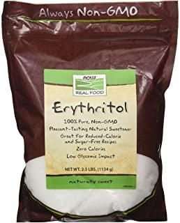 NOW Foods 諾奧 赤蘚糖醇天然甜味劑 2.5 磅(約 1.1 千克)(2 件裝)