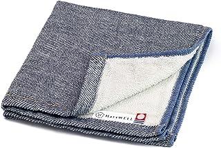 今治毛巾 日本制造 牛仔布 洗毛巾 34×35cm 靛蓝色 34×35cm 11200327