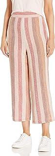BB Dakota 女士 70 年代条纹针织七分裤
