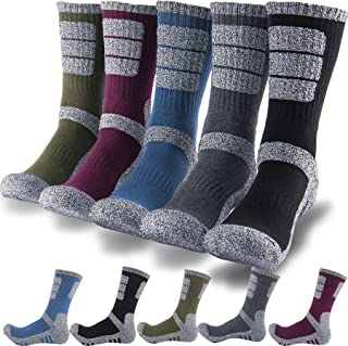 DEARMY 5 双装男式多功能垫户外徒步船袜   吸湿排汗   男士礼物   全年