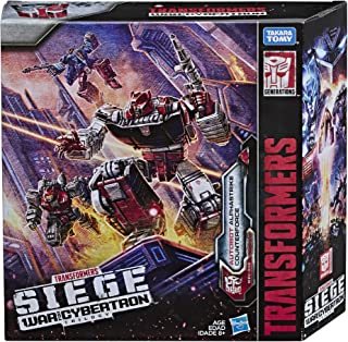 Transformers 变形金刚 玩具 塞伯坦之战 Deluxe Wfc-S26 汽车人阿尔法反击小队 3件装 - 最后一击玩偶系列:第一部分