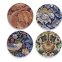 Buttonsmith 威廉·莫里斯艺术磁贴套装 - 美国制造 Morris 套装 2 PRESet-Mag-Morri…
