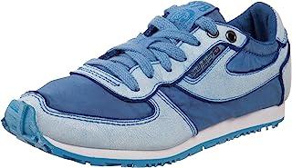 Diesel 小童/大童款 Great Era Pass On K 运动鞋,蓝色杜宾犬,欧码 35.5 M 码/美码 3.5 M 大童
