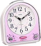 Seiko clock 闹钟 模拟31首歌曲旋律铃声 PYXIS 粉色 NR435P SEIKO