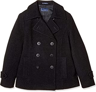 [橄榄橄榄学校 ] 橄榄橄榄学校 短款P外套[炭灰色] 女孩 JC749-08