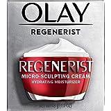 OLAY 玉兰油 Regenerist Micro-Sculpting 保湿面霜,含玻尿酸和维生素B3 +,1.7盎司…