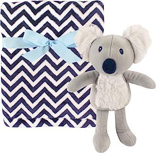 Hudson Baby 毛绒毯和动物*毯套装 考拉 均码