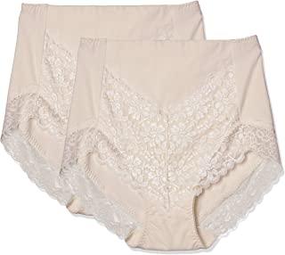 ATSUGI 矫正短裤 3D COVER 收腹 高腰蕾丝短裤 棉95% 天竺棉 3L 4L 女士