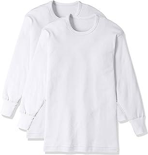 (郡是) Gunze 打底衫是 greenmark *** 纯棉长袖圆领2件装