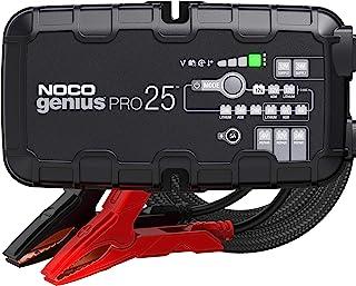 NOCO GENIUSPRO25 25 安培全自动专业智能充电器,6V,12V 和 24V 电池充电器,电池维护器,电源和电池脱散器,带温度补偿