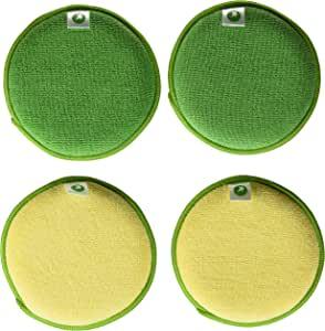 Starfiber microfiber kitchen Scrubbies, 4 件装