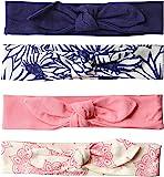 touched 来自大自然女婴4件装有机棉头巾,0 – 24个月
