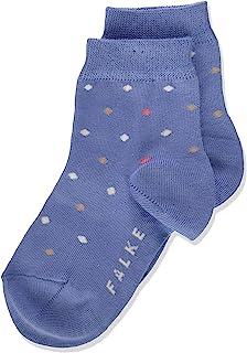 FALKE 中性儿童 Multidot 短袜 棉 灰色 白色 更多颜色 薄款 彩色 小腿袜 适合男孩或女孩图案 夏季或冬季 1 双