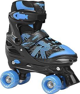 Roces 男童 Quaddy 3.0 男孩可调节儿童溜冰鞋