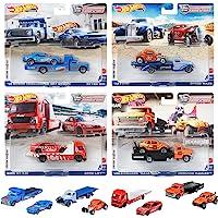 Hot Wheels Team Transport Asso 2021 Mix2 迷你车4台套装 盒装销售】 986L…