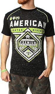American Fighter 男士金马伦羽绒图案T恤