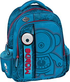 Graffiti Monskey 学生背包,30 厘米,蓝色