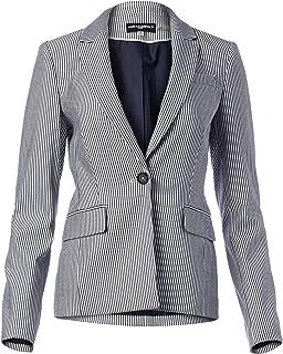 Karl Lagerfeld Paris 女士细条纹外套