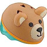 Schwinn 儿童自行车头盔具有 3D 特征,婴儿和幼儿尺寸