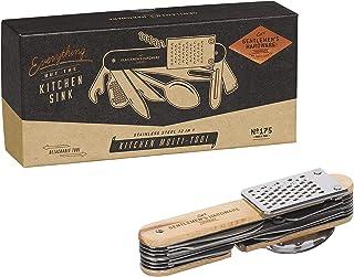 Gentlemen's Hardware 厨房多功能五金工具,银色