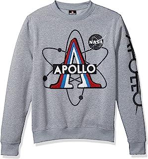 Southpole 男式 NASA 系列羊毛运动衫(连帽衫,圆领)