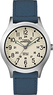 Timex 天美时 中性TW4B13900 Expedition Scout 36毫米尼龙表带手表