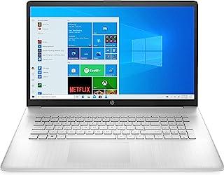 HP 惠普 17-cp0057ng (17.3英寸 / 全高清 IPS)笔记本电脑(AMD Ryzen 5 5500U 16GB DDR4 内存 512GB 固态硬盘 AMD 显卡 Windows 10 QWERTZ 布局)银色