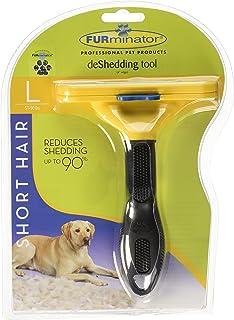 FURminator Short Hair deShedding Tool for Dogs, Large