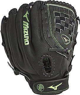 Mizuno Prospect 12 英寸垒球手套快速投球黑色