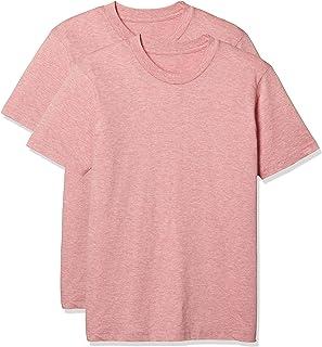 [Seshiel]男士纯棉短袖圆领T恤衫(同色2件套) 简约 腋下无缝 KP-709