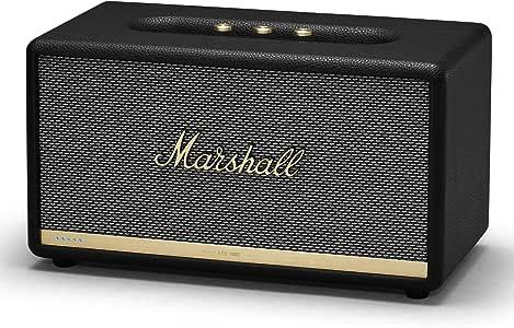 Marshall 马歇尔 Stanmore II 声控蓝牙扬声器,带Amazon Alexa--黑色