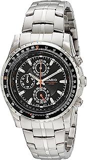 Casio 卡西欧男士 MTP4500D-1AV 计算尺式边圈飞行员不锈钢手表