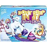 Hasbro Gaming Don't Step In It 游戏,独角兽版(亚马逊*)