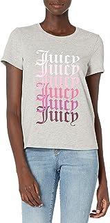 Juicy Couture 女士短袖 Juicy 图案 T 恤