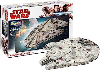 Revell 06718 星球大战 Han Solo Millennium Falcon,多种颜色,1:72 比例