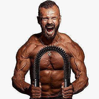 BOA Power Twister Spring 前臂玩具枪杆,男士胸部锻炼器,肩臂建造者二头肌玩具枪