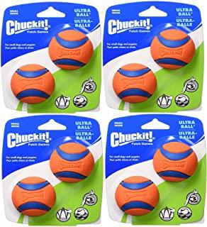 """Petmate 17020 2"""" 小橙色 Chuckit! Ball Ultra 2 只装"""