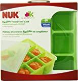 NUK Homemade 婴儿食品灵活冷冻托盘和盖子套装