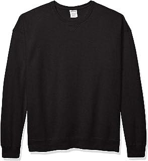 Hanes 男士舒适印花染色羊毛运动衫
