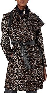 Vince Camuto 女式混合面料羊毛大衣