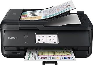 Canon 佳能 适用于家庭办公室的TR8520多合一打印机|无线| 手机打印| 照片和文档打印,AirPrint(R)和Google云打印,黑色